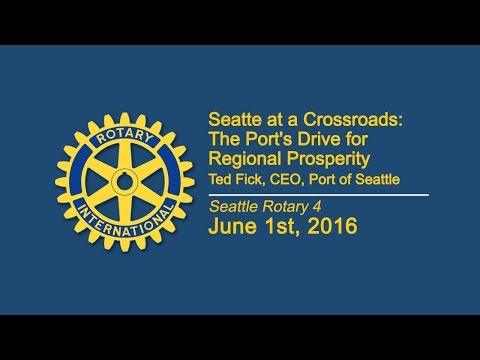 Rotary Luncheon June 1st 2016 Port of Seattle