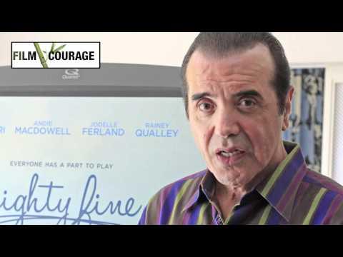 Chazz Palminteri talks MIGHTY FINE