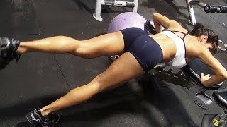 Workout Motivation!! Female Fitness Model Michelle Lewin