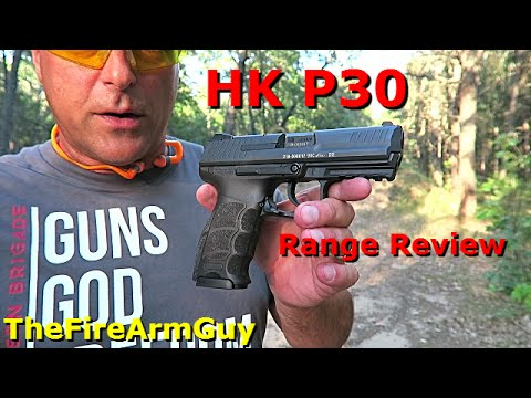 HK P30 Range Review - TheFireArmGuy