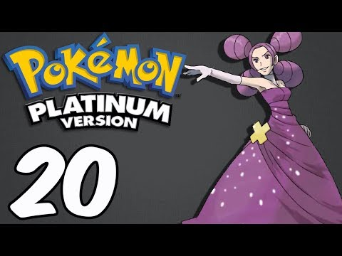Pokemon Platinum (Blind) -20- Hearthome Gym And FANTINA!
