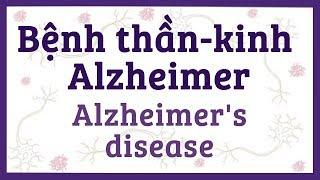 Bệnh thần kinh Alzheimer - mảng bám, đám-rối nội-bào thần-kinh - nguyên nhân, triệu chứng và bệnh lý