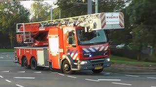 PRIO 1 TS23-1 AL44-1 TS43-2 naar gebouwbrand in Rotterdam