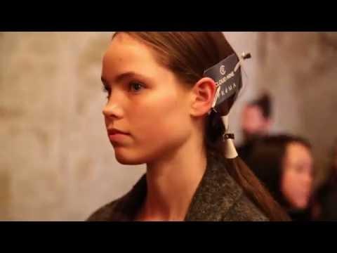 2016 Fashion Week Australia Hair - Yeojin Bae - Behind the Scenes Hair for Cloud Nine