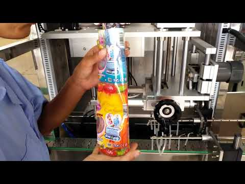 How To Operate Sleeve Label Applicator Machine Tutorial