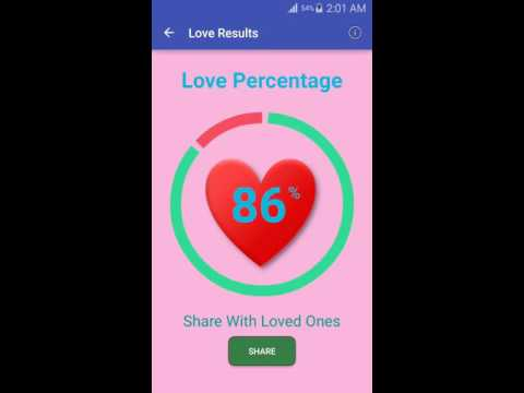 Love Calculator App