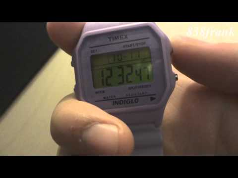 Timex Watch: Disable Hourly Chime
