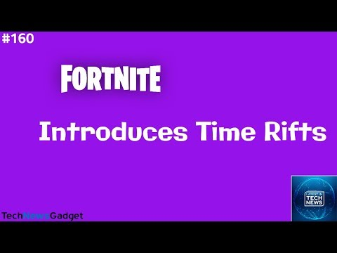 160 Fortnite Activates Time Rifts