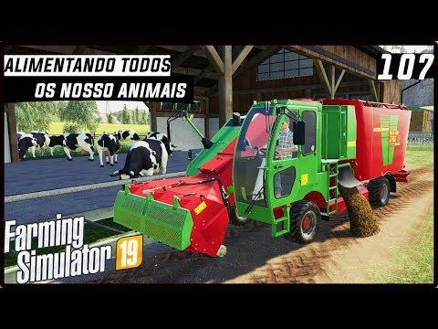 ALIMENTANDO OS NOSSO ANIMAIS! | FARMING SIMULATOR 19 #107 [PT-BR] thumbnail