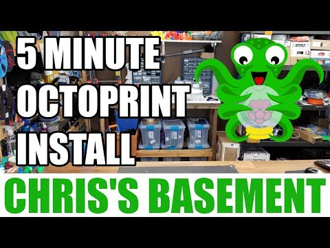 Install Octoprint - In 5 Minutes - Raspberry Pi - Chris's Basement