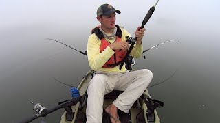 Fishing in the Fog for Blue Catfish
