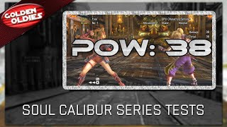 Soul Calibur Series Tests