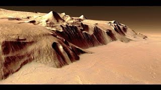 ✔ POV Flying Mars Virtual Tour Ground Level ~ Cool Continuous Flight