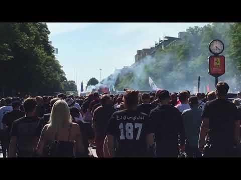 Eintracht Frankfurt Fans Before DFB Pokal