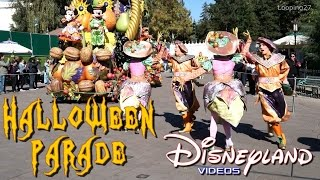 Halloween Parade 2015 - Disneyland Paris HD