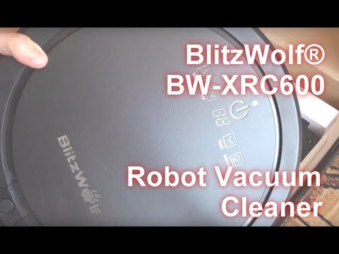 BlitzWolf® BW-XRC600 Robot Vacuum Cleaner from banggood.com review