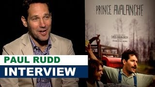Paul Rudd Interview 2013 - Prince Avalanche : Beyond The Trailer