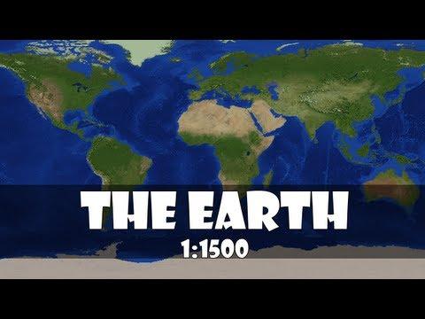 Trailer Minecraft Earth 1:1500 scale