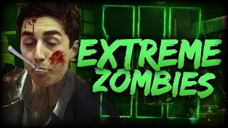 I ALMOST DIED! EXTREME ZOMBIES - CINNAMON CHALLENGE