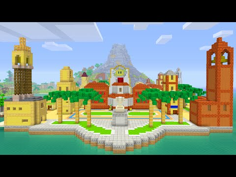 Minecraft Wii U - Super Mario Edition - Sunshine City [Part 2]
