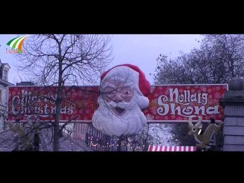 Christmas Market at St. Stephen's Green Dublin Ireland by Ivision Ireland