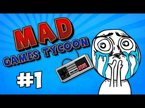Mad Games Tycoon #1 - NEW COMPANY w/Seniac