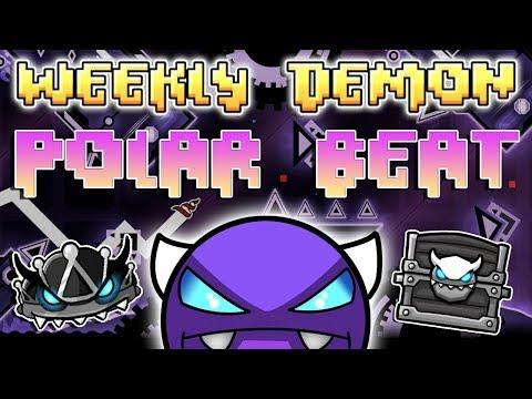 (Weekly Demon #22) Geometry Dash 2.11 - Polar Beat [1 Coin] - By LeocreatorX