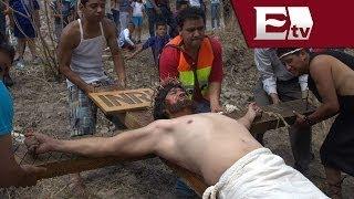 Iztapalapa revive la Pasión y Muerte  Cristo / Nacional con Mario Carbonell