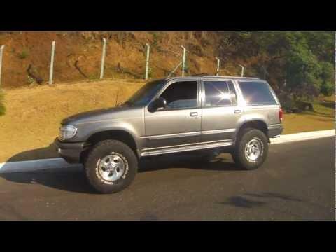 Lifted Ford Explorer >> Explorer 98 Pneus 35 35 Tires 5 5 Lift Bh Youtube
