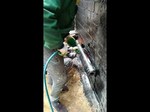 Вертикальное наплавление на фундамент
