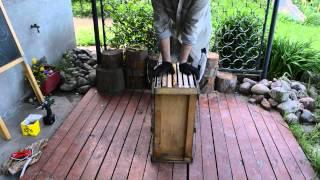 Укомплектование ловушки для пчел