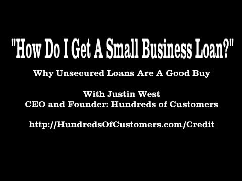 """""""How Do I Get A Small Business Loan?"""" 
