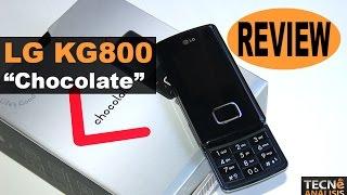 LG KG800 Chocolate, anunciado en 2005 | Historia Telefonía Móvil