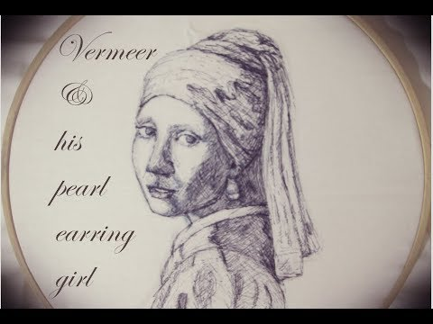 Very fast sketch: Girl with a Pearl Earring