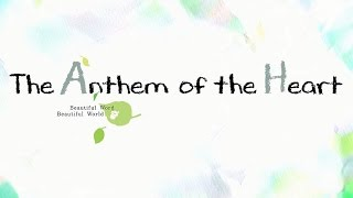Watch The Anthem of the Heart Anime Trailer/PV Online