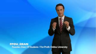 Preview - For-Profit Online University