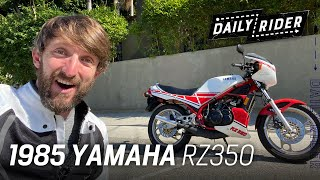 Last of the Two-Strokes! 1985 Yamaha RZ350 Review | Daily Rider