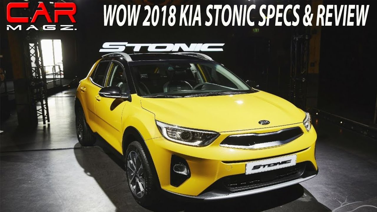 2018 kia stonic review specs and price youtube. Black Bedroom Furniture Sets. Home Design Ideas