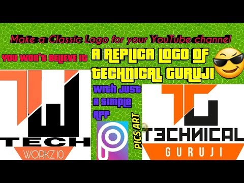How To Cool Logos For Your Youtube Videos Tech Workz 10