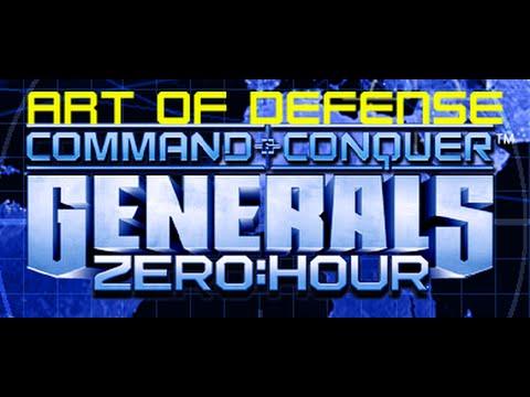 Generals ZH - AoD - Doomed Pathway w Blacky, Ninja, Frenkie and RebelSnow