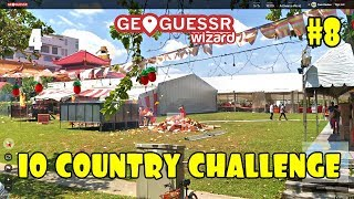 Geoguessr - 10 country challenge #8 (A Diverse world)
