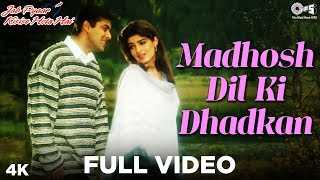 Express the feeling of love with romantic track salmankhan & twinklekhanna in song 'madhosh dil kil dhadkan' from movie 'jab pyaar kisise hota...