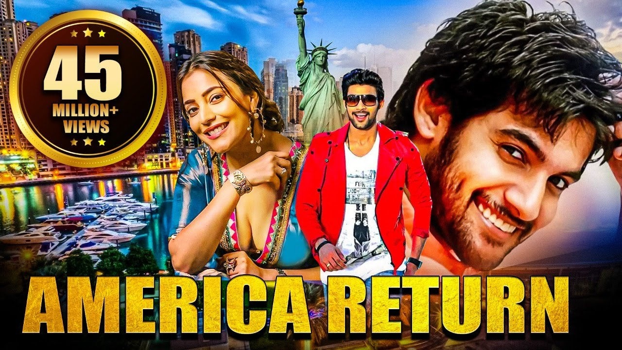 America Return (2019) New Released Full Hindi Dubbed Movie | Aadi, Nisha Aggarwal
