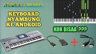 Cara Menghubungkan Keyboard Yamaha ke Android (Synthesia)