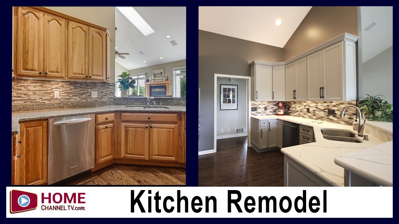 Kitchen Remodel - Before & After Makeover by KLM Builders & Remodelers