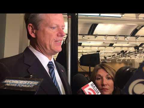 Gov. Charlie Baker pleased state Senate is taking steps toward independent probe of Senate president Stan Rosenberg's husband