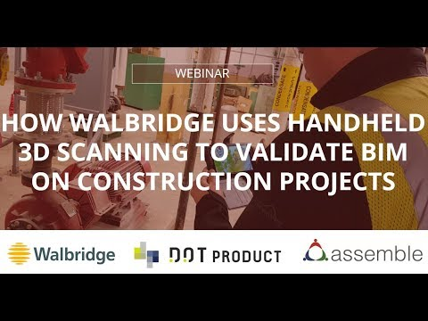 How Walbridge uses Handheld 3D Scanning to Validate BIM on Construction Projects