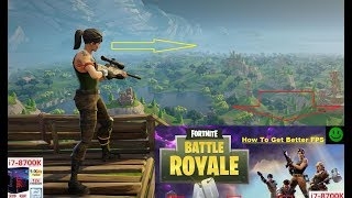 How To Boost Fortnite Battle Royale à 144 FPS 'Comment obtenir de meilleurs cadres (FPS) (4K)