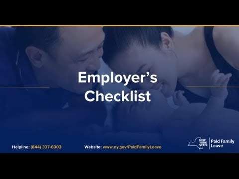 New York Paid Family Leave Guide for Employers and Business