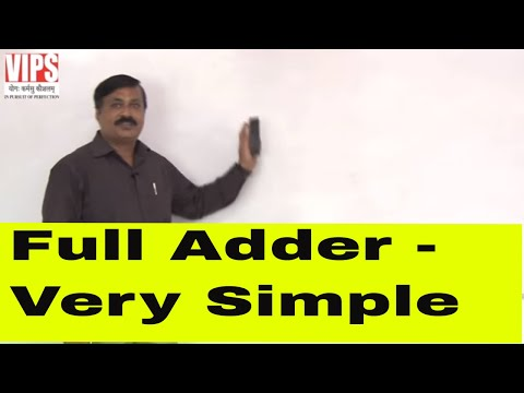 Full Adder ( Binary Adder ) - Digital Electronics